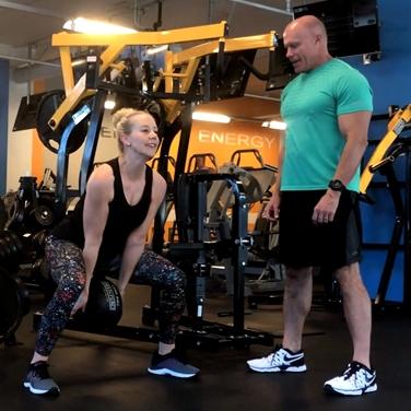 Murphy Fitness coaching female